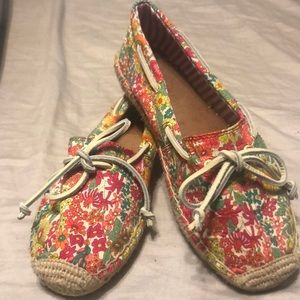 Sperry  top-sider floral print